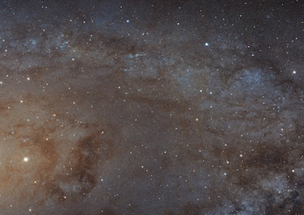 A Hubble image of part of the Andromeda galaxy, which like our Milky Way may be a galactic zombie. Image credit: NASA, ESA, J. Dalcanton, B.F. Williams and L.C. Johnson (University of Washington), the PHAT team, and R. Gendler