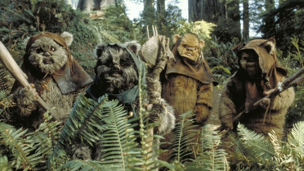 Endor: not all exomoons come with ewoks. Image credit: Star Wars: Episode VI Return of the Jedi