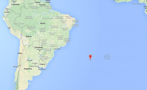 Location of the February 9, 2016 fireball. Image: Google Maps