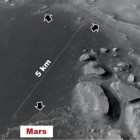 The floor of a basin on Mars where Rodriguez and others propose in this investigation that shallow lakes could have formed. These lakes could have provided an abode for life, these scientists say.