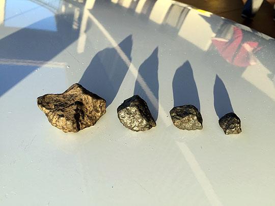 Four Osceola meteorites