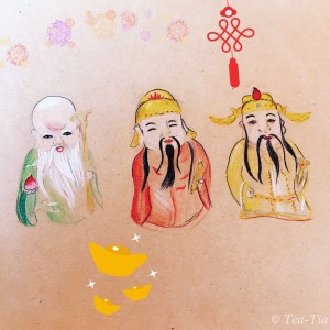 In Chinese tradition, the 3 belt stars of Orion represent 3 gods.