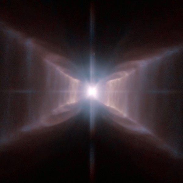 The Red Rectangle Nebula, via ESA