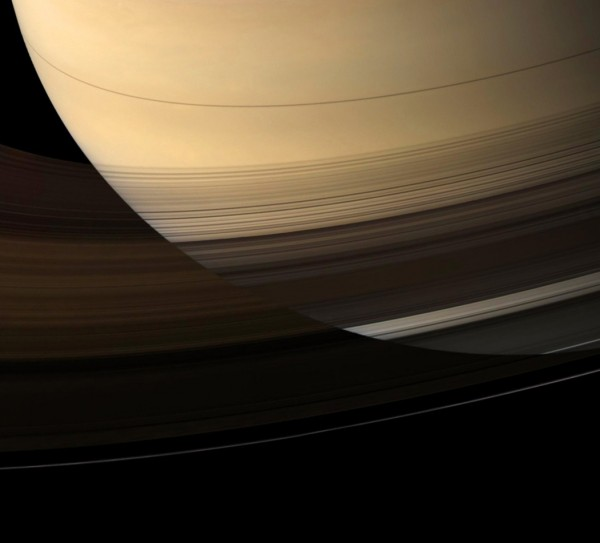 Saturn, via the Cassini spacecraft.