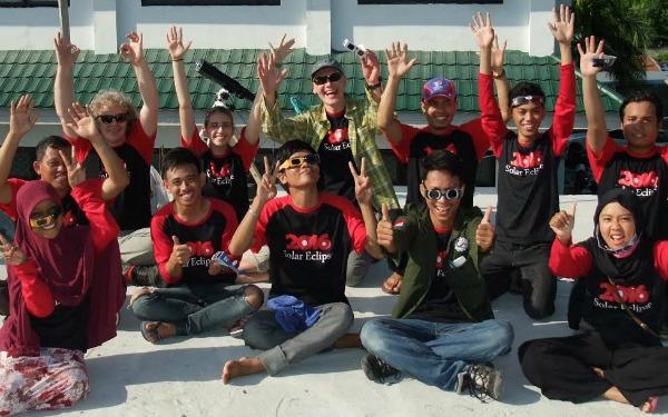 The Tadulako University/Western Kentucky University team in Palu, Indonesia.