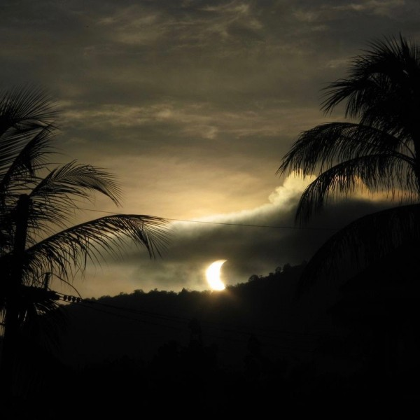Ingo Steller in Phuket, Thailand captured the partial eclipse and said: