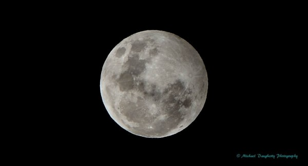 March 23, 2016 penumbral lunar eclipse from Michael Daugherty in Orange, California.