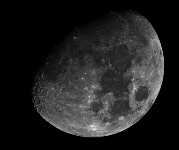 Here's the moon on the night of March 18, 2016 as seen in India.  From around the world now, the moon is waxing to full.  This full moon will bring a subtle kind of lunar eclipse, a penumbral eclipse on March 23.