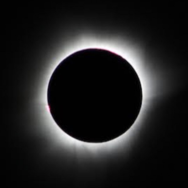 Totality of March 9, 2016 total solar eclipse, from Jon Greif aboard the cruise ship MS Volendam in the Straits of Makassar, Indonesia.