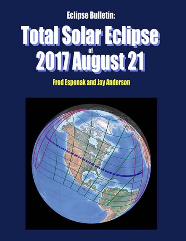 The go-to guide for the August 21, 2017 total solar eclipse.  Order here.