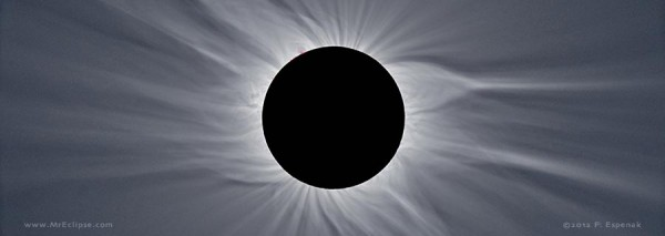 The total solar eclipse of March 29, 2006 as seen from Jalu, Libya.  Photo by Fred Espenak.  View eclipse photo gallery..
