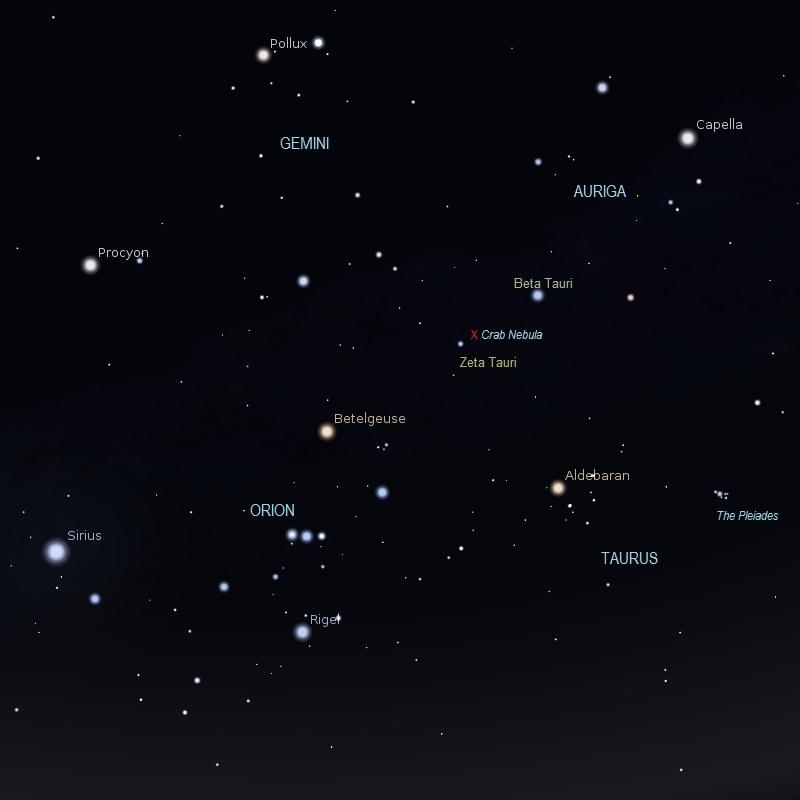 taurus the bull constellation crab nebula - photo #38