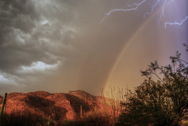 Eliot Herman in Tucson sent in this one, too.  He said: