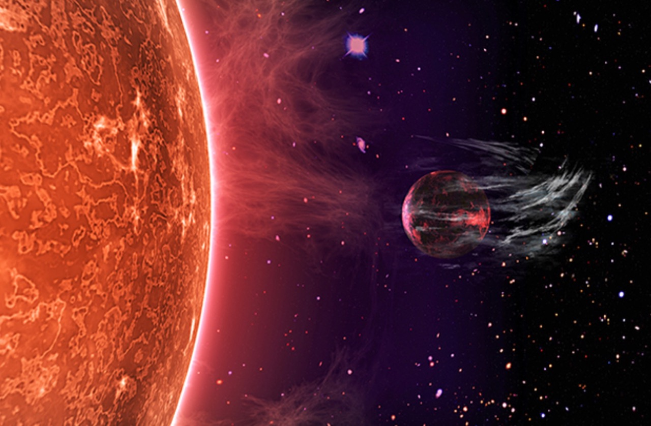 Stars strip atmospheres of super-Earths | Science Wire ...