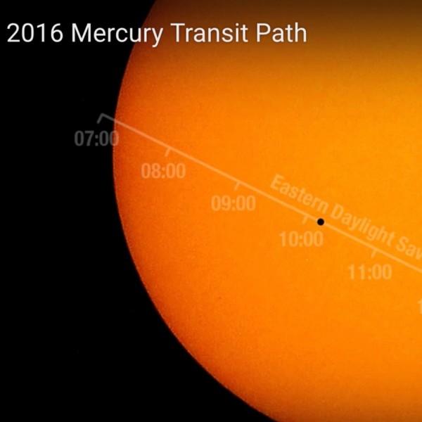 May 9, 2016 transit of Mercury