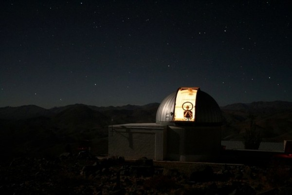 TRAPPIST telescope, ESO La Silla Observatory in Chile. Photo credit: TRAPPIST