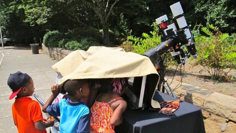 Local children join the fun at ALCon 2015.