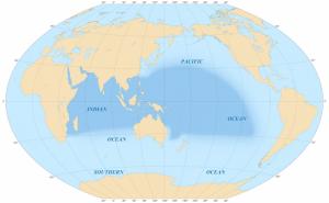 The Indo-Pacific region. Image credit: Eric Gaba via Wikimedia commons.