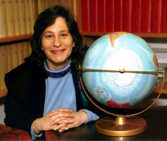 Susan Solomon in 2004, via NOAA