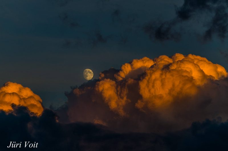 Moon over Estonia on July 16 2016 by our friend Jüri Voit Photography.