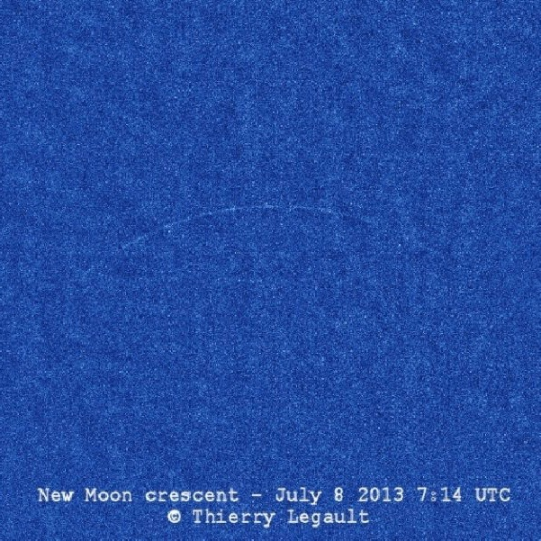What's a new moon?
