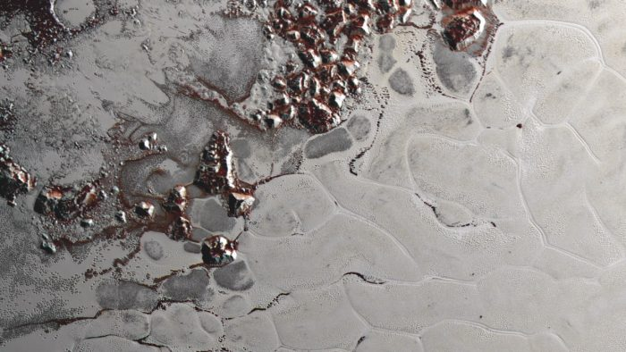 Scientists from NASA's New Horizons mission used state-of-the-art computer simulations to show that the surface of Pluto's heart-shaped Sputnik Planum region is covered with churning ice