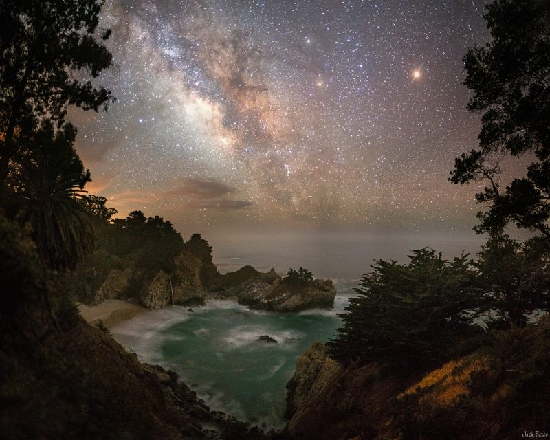 McWay Falls in California, captured July 4, 2016 by Jack Fusco Photography.