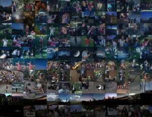 Many tiny photos in small squares.
