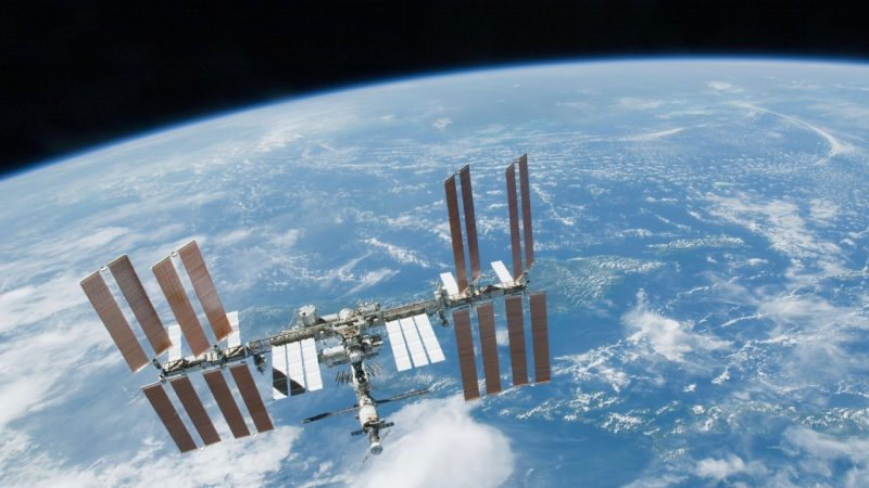 The International Space Station (ISS), via NASA.