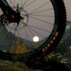 This week's rising full moon over the Tetons, by Chris Davis.  Thanks, Chris!