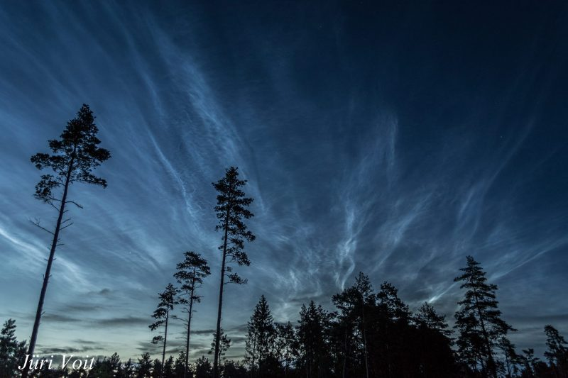 Noctilucent clouds - July 14, 2016 - by our friend Jüri Voit Photography in Estonia.