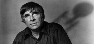 Gene Roddenberry with Enterprise in the background. Credit: Letters of Note.
