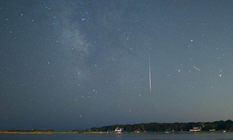 Bobby D'Esposito Jr. caught this meteor over Long Island, New York on August 8, 2016.