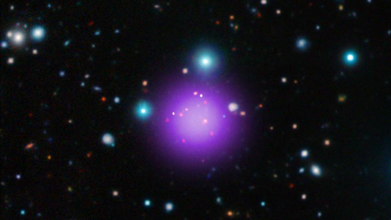 Image via NASA/CXC/Université Paris/T.Wang et al; ESO/UltraVISTA; ESO/NAOJ/NRAO/ALMA