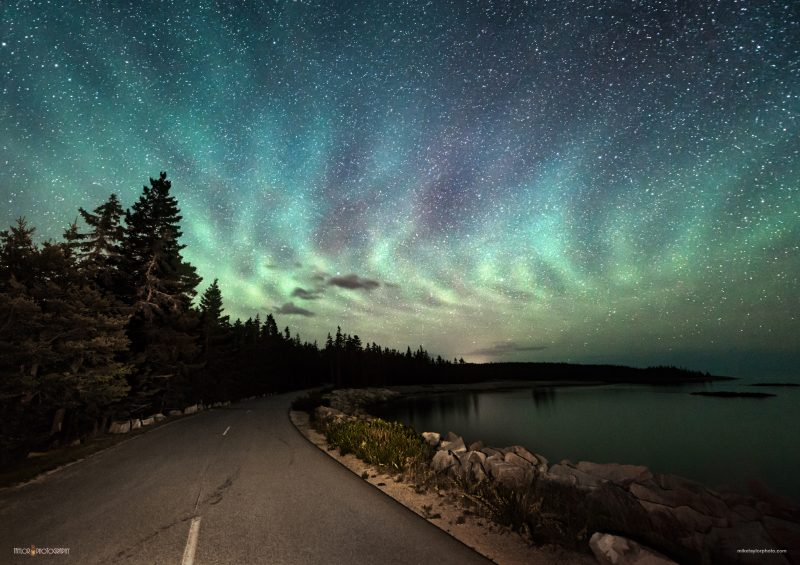 Airglow in Acadia National Park, via Mike Taylor Photography.