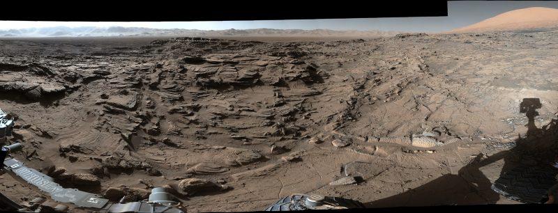 NASA's Curiosity is already exploring the Martian terrain. Image via NASA