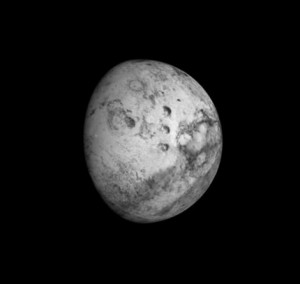 Simulation of Mars as viewed through the telescope at east quadrature on September 13, 2016. Image via US Naval Observatory.