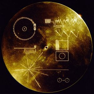 The Golden Record, NASA/JPL, via Wikimedia Commons.