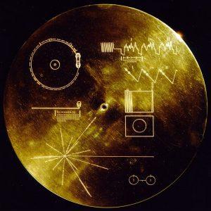 The Golden Record, NASA/JPL, via Wikimedia Commons.