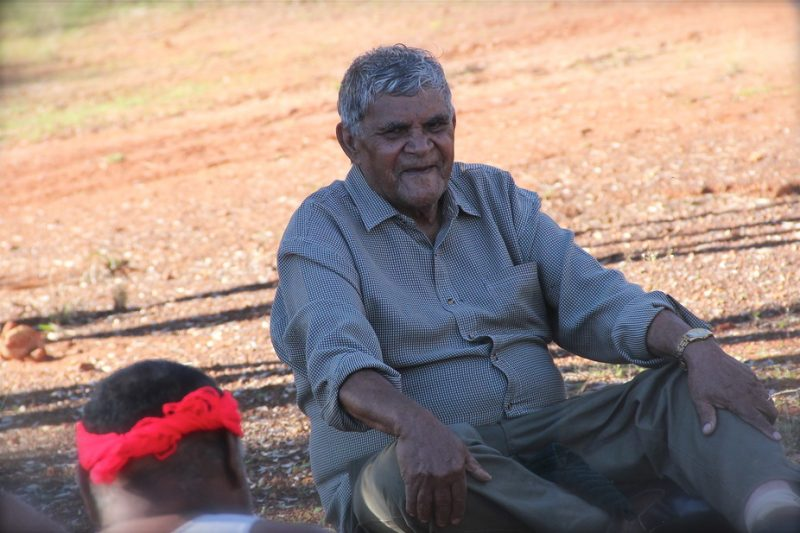 Aubrey Lynch, elder from the Wongatha Aboriginal language group, participated in one of the studies. Image via Preben Hjort, Mayday Film.