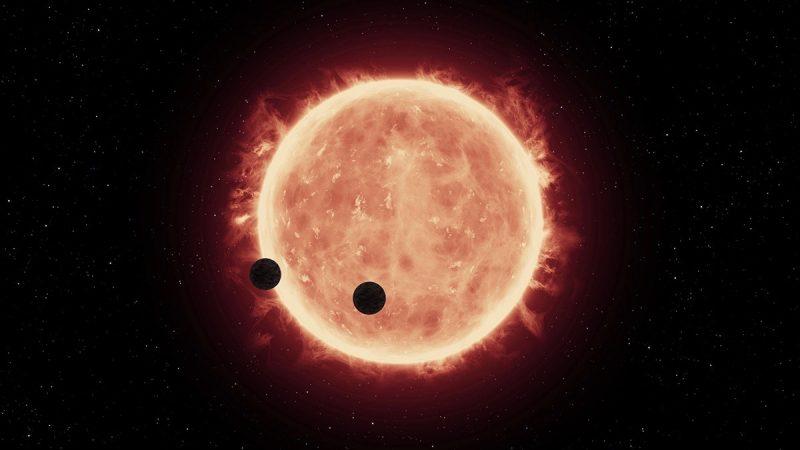 Image via NASA/ ESA/ G. Bacon, STScI.