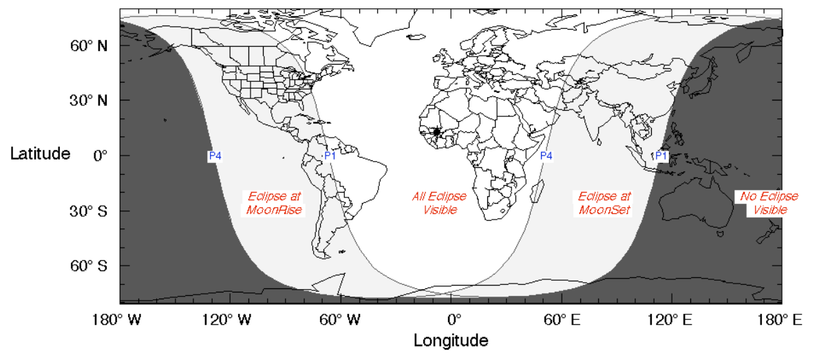 The world's Western Hemisphere (North and South America, Greenland) see the penumbral eclipse of the moon on the evening of Friday, February 10. The world's Eastern Hemisphere (Europe, Africa, Asia) see the eclipse on the morning of Saturday, February 11. Read more.