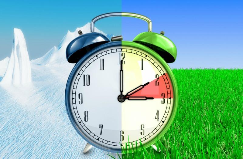 Spring forward, fall back … why? Image via Shutterstock.com