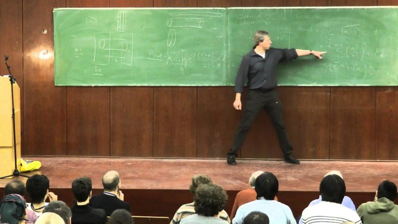 Erik Verlinde of University of Amsterdam at the 29th Jerusalem Winter School in Theoretical Physics, 2010, via YouTube.