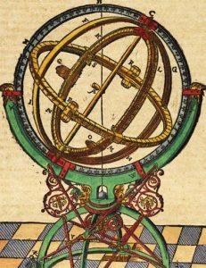 Tycho's Armillary Via Wikimedia Commons.