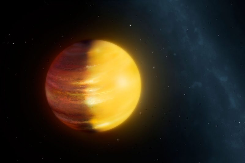 Artist's concept of exoplanet HAT-P-7b via Mark Garlick/University of Warwick.