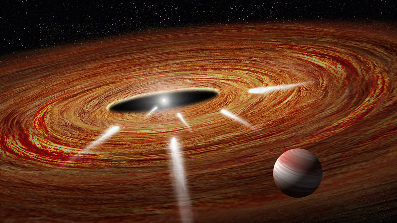 hubble spies exocomets' plunge into star | space | earthsky