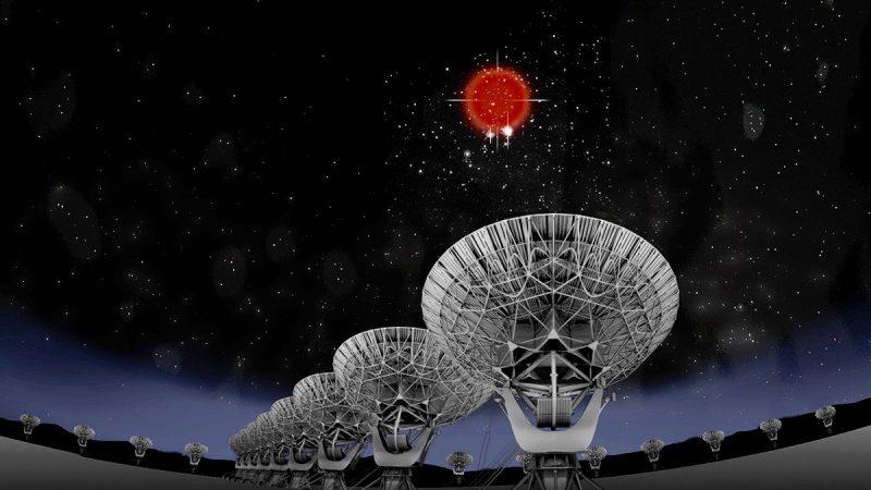 Home galaxy found for fast radio burst