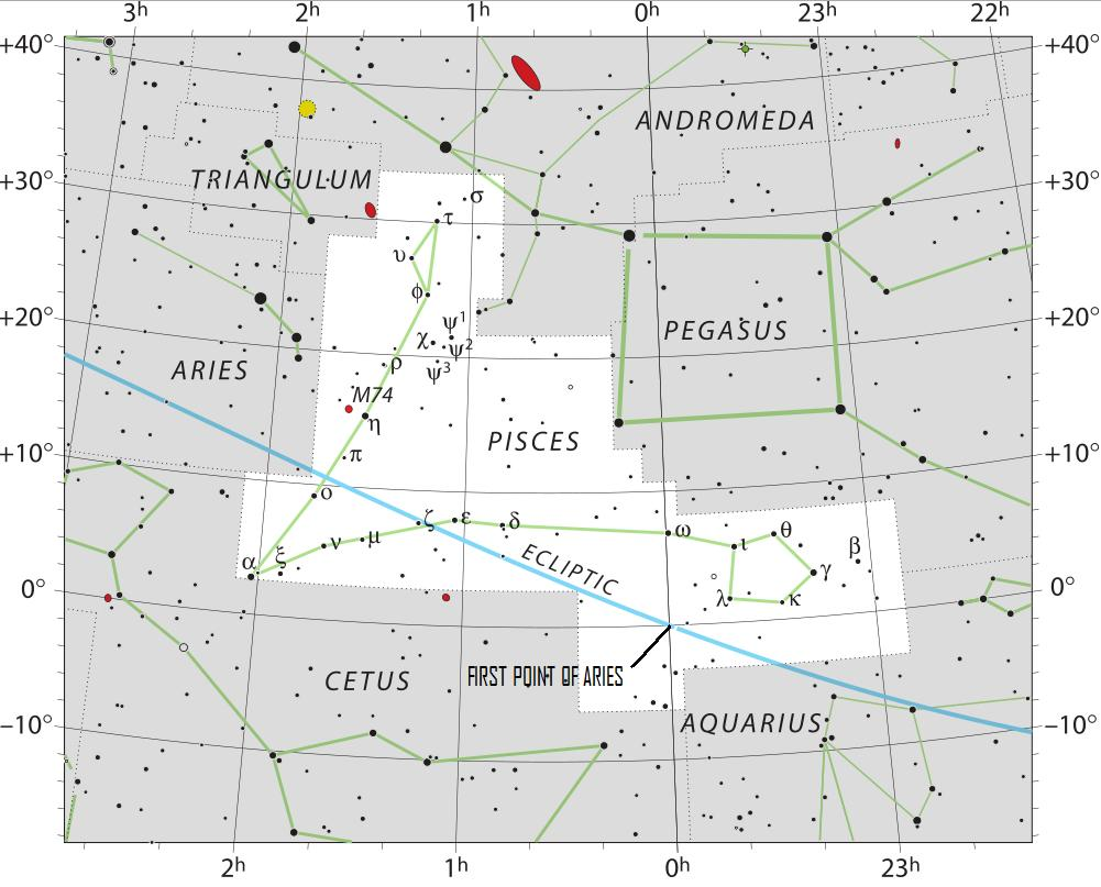 Moon Venus First Point Of Aries Sky Archive Earthsky