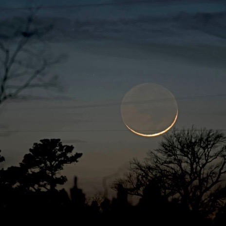 Will you see the young moon tonight?   Tonight   EarthSky